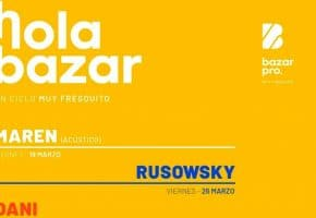 Hola Bazar 2021 en Valladolid - Conciertos, fechas y entradas