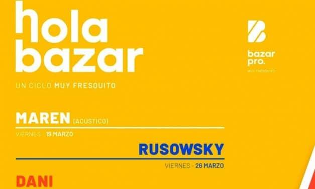 Hola Bazar 2021 en Valladolid – Conciertos, fechas y entradas