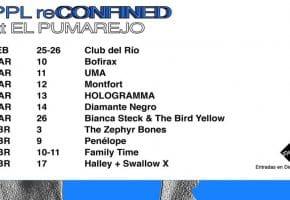 PPL reCONFINED 2021 en El Pumarejo - Conciertos, fechas, cartel y entradas