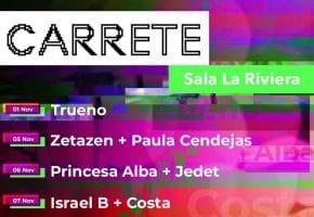 Ciclo CARRETE 2021 - Conciertos, cartel y entradas en La Riviera