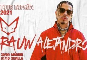 Conciertos de Rauw Alejandro en España - 2021 - Entradas