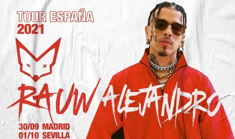 Conciertos de Rauw Alejandro en España – 2021 – Entradas