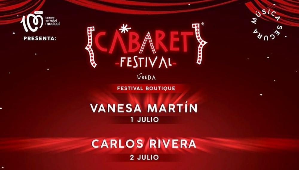 Cabaret Festival en Úbeda – 2021 – Conciertos, fechas y entradas