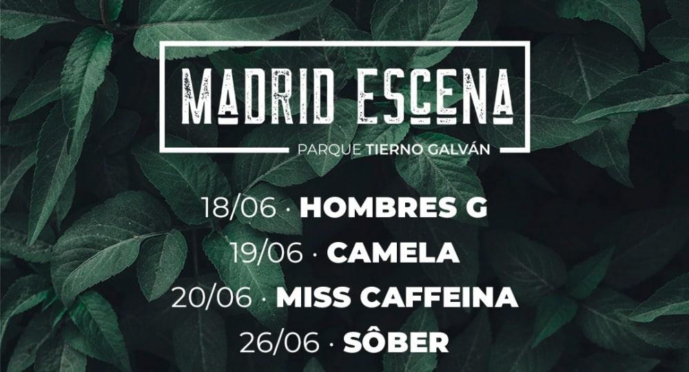 Madrid Escena 2021 – Conciertos, cartel y entradas