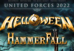Helloween + Hammerfall en Madrid y Barcelona - 2022 - Entradas