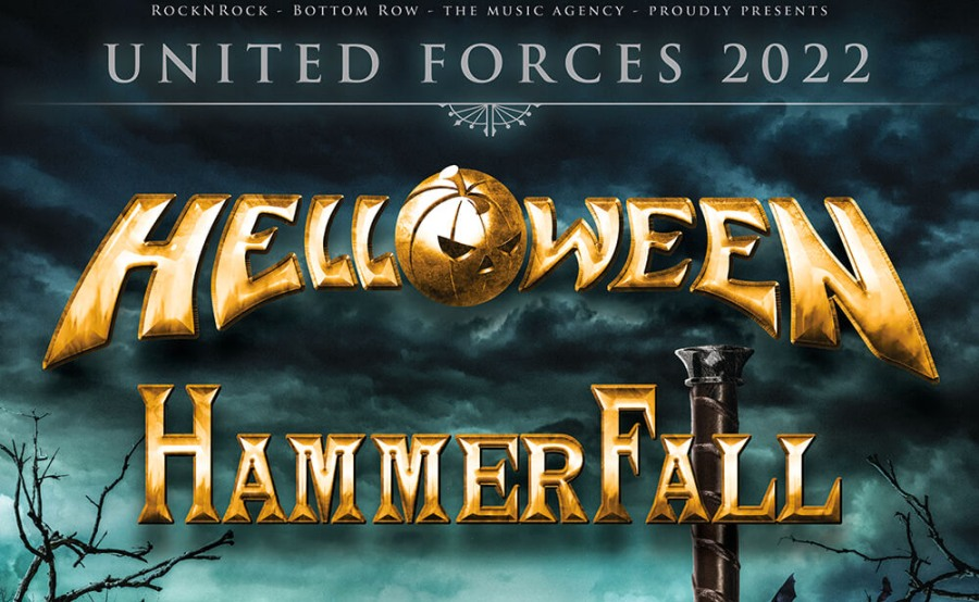 Helloween + Hammerfall en Madrid y Barcelona – 2022 – Entradas