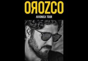 Conciertos de Antonio Orozco en España - 2021 y 2022 - Entradas Aviónica Tour