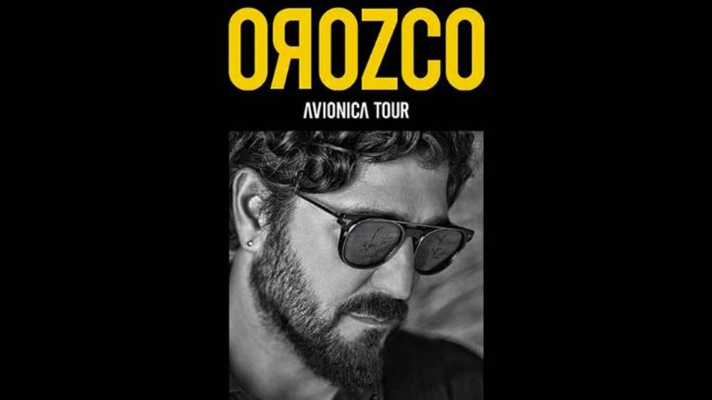 Conciertos de Antonio Orozco en España – 2021 y 2022 – Entradas Aviónica Tour