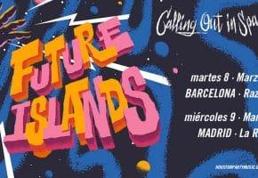 Conciertos de Future Islands en Madrid y Barcelona - 2022 - Entradas