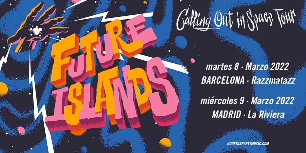 Conciertos de Future Islands en Madrid y Barcelona – 2022 – Entradas