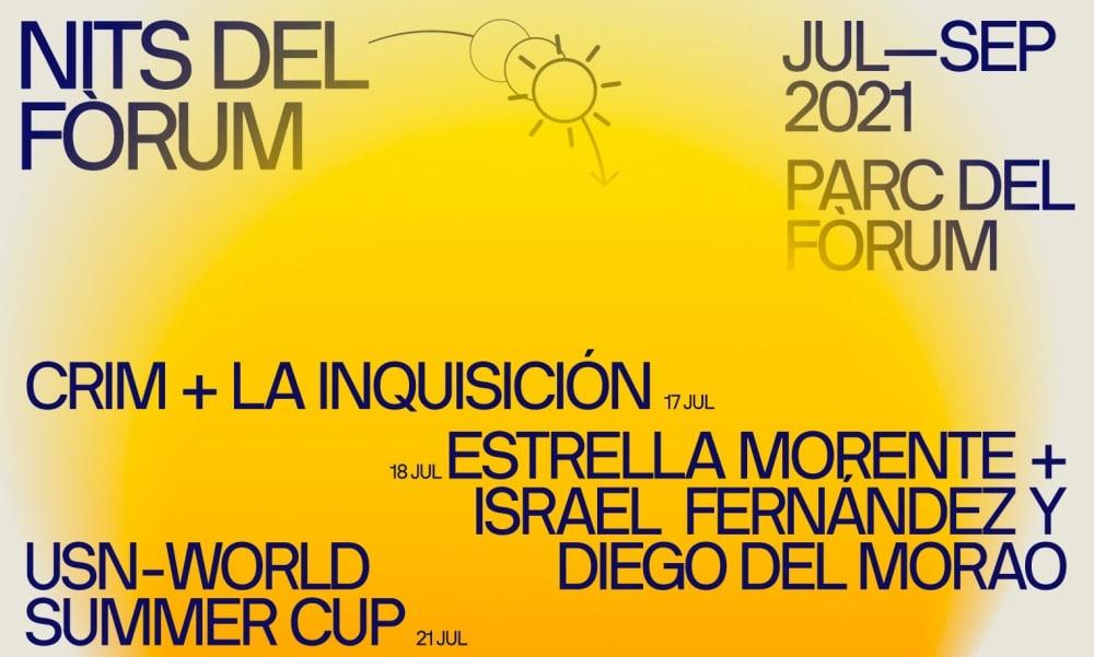 Nits del Fórum 2021 – Conciertos, cartel y entradas