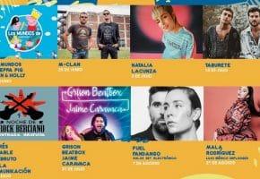 Las Noches del Auditorio Ponferrada - 2021 - Conciertos, cartel y entradas
