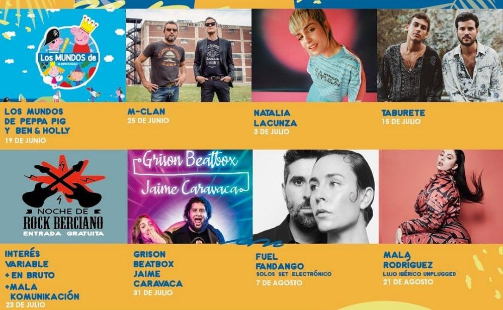 Las Noches del Auditorio Ponferrada – 2021 – Conciertos, cartel y entradas