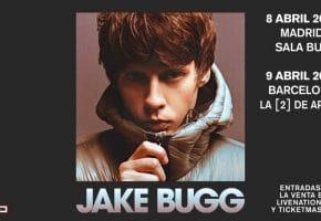 Conciertos de Jake Bugg en Madrid y Barcelona - 2022 - Entradas