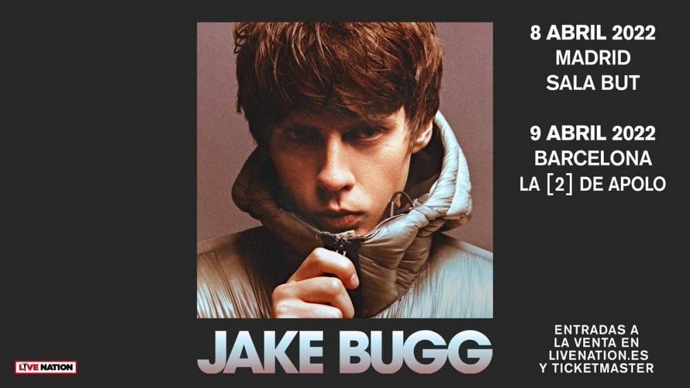 Conciertos de Jake Bugg en Madrid y Barcelona – 2022 – Entradas