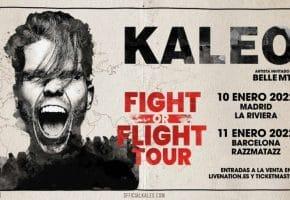 Conciertos de KALEO en Madrid y Barcelona - 2022 - Entradas