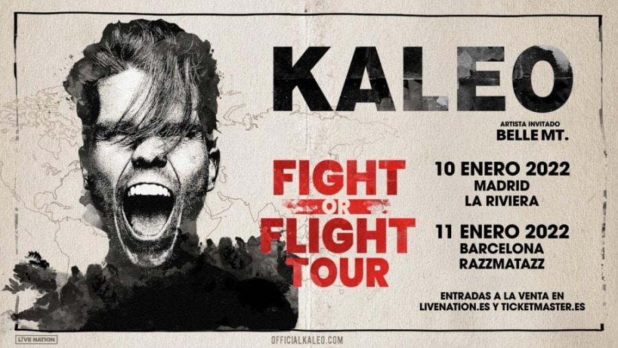 Conciertos de KALEO en Madrid y Barcelona – 2022 – Entradas