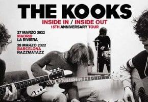 Conciertos de The Kooks en Madrid y Barcelona - 2022 - Entradas