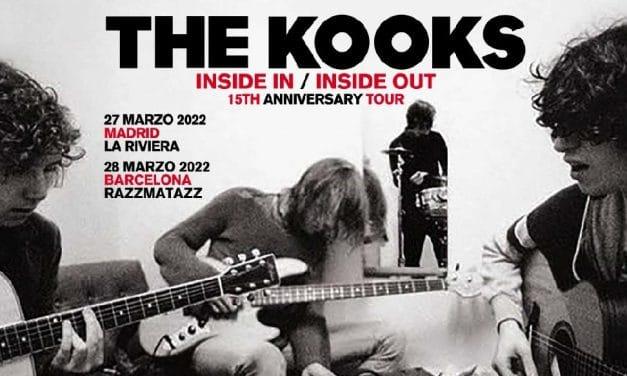 Conciertos de The Kooks en Madrid y Barcelona – 2022 – Entradas