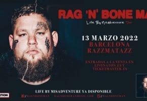 Concierto de Rag'n'Bone Man en Barcelona - 2022 - Entradas