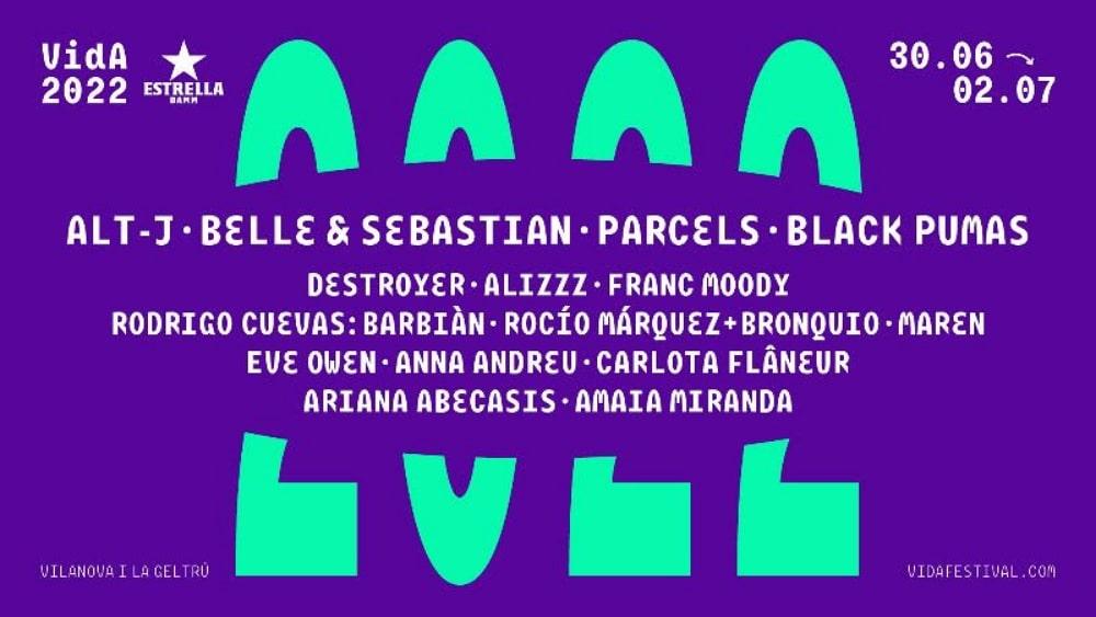 VIDA Festival 2022 – Cartel, conciertos y entradas