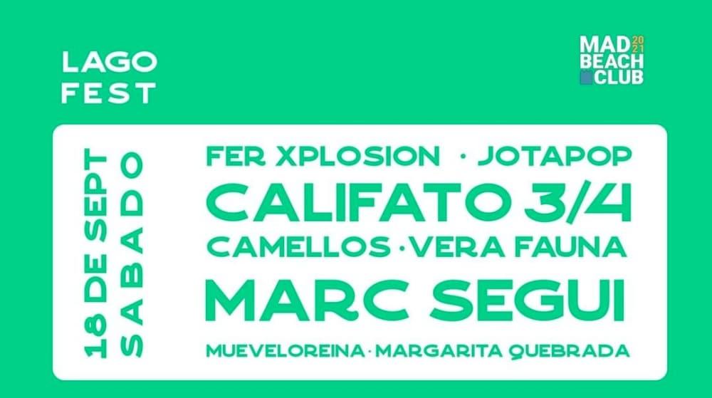 Lago Fest 2021 – Conciertos, cartel y entradas