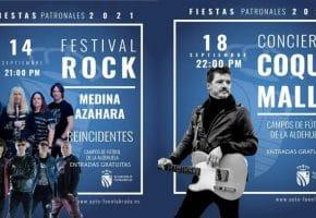 Fiestas de Fuenlabrada 2021 - Programación de conciertos, horarios y entradas