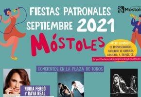 Fiestas de Móstoles 2021 - Programación de conciertos, horarios y entradas