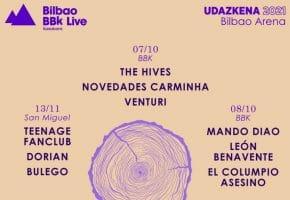Ciclo Bilbao BBK Live Udazkena 2021 - Cartel y entradas