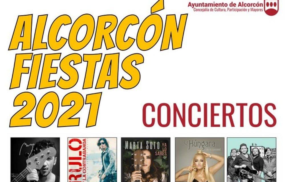Fiestas de Alcorcón 2021 – Programación de conciertos, horarios y entradas