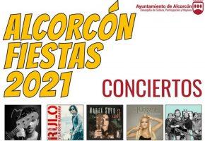 Fiestas de Alcorcón 2021 - Programación de conciertos, horarios y entradas
