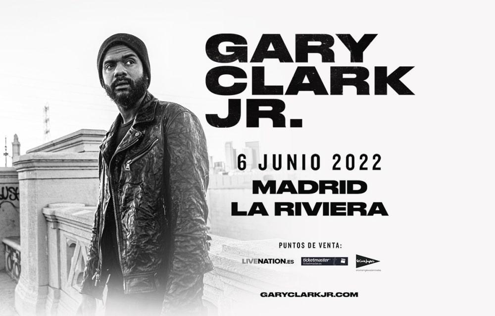 Concierto de Gary Clark Jr. en Madrid – 2022 – Entradas