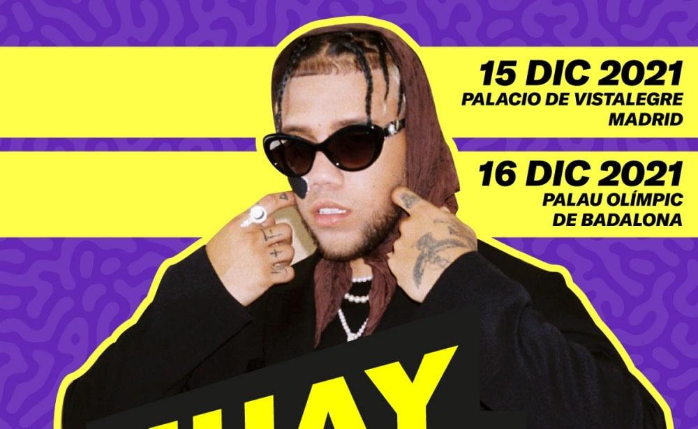 Conciertos de Jhay Cortez en Madrid y Barcelona – 2021 – Entradas