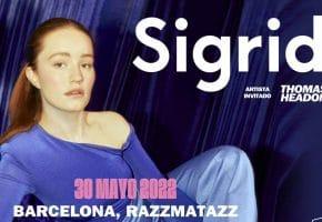 Concierto de Sigrid en Barcelona - 2022 - Entradas