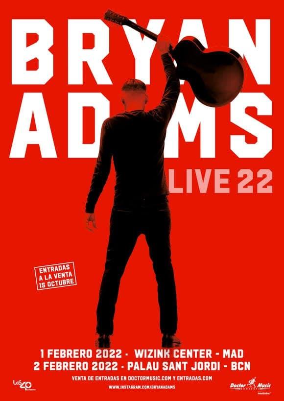 bryan adams conciertos