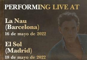 Conciertos de Joshua Radin en Madrid y Barcelona - 2022 - Entradas